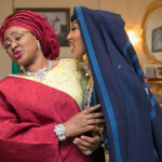 Awww! Check Out Throwback Photo Of Aisha Buhari And Her Children