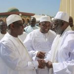 Adama Barrow & President Of Senegal Pray For Peace In Gambia [PHOTOS]
