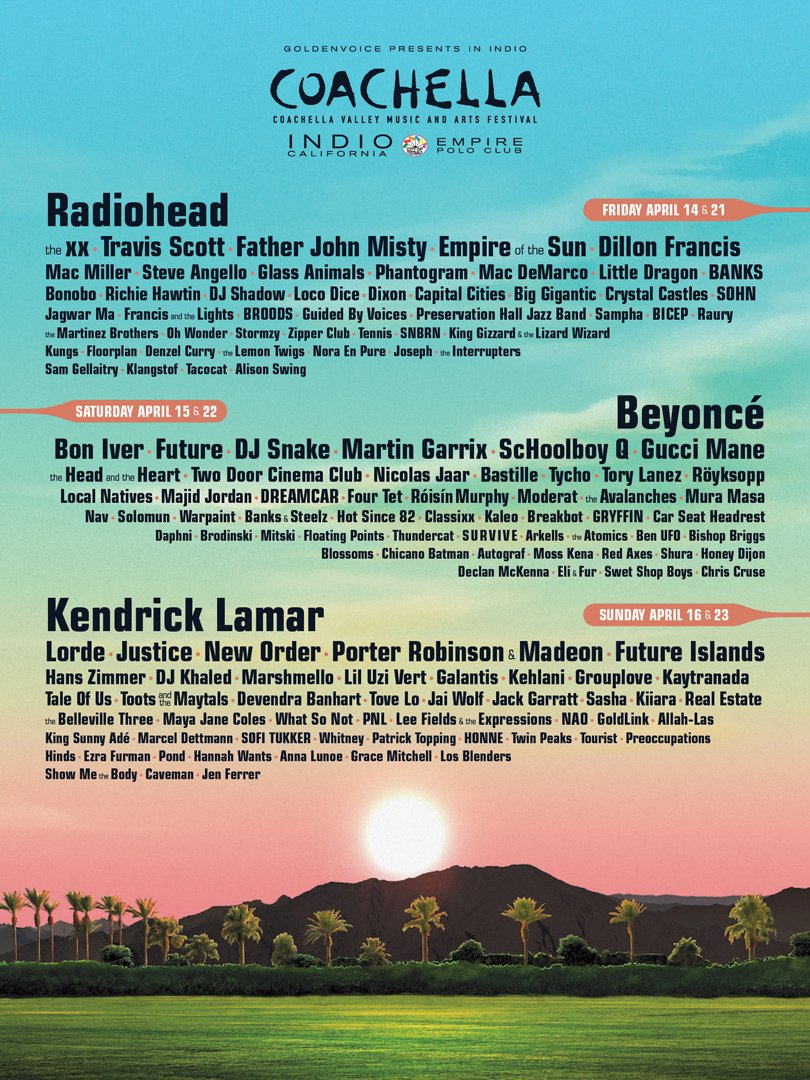 <p><strong>King Sunny Ade</strong> To Perform Alongside <strong>Beyoncé</strong>, <strong>Kendrick Lamar</strong>, Others At <strong>Coachella 2017</strong></p>
