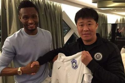 John Obi Mikel Chinese Club Transfer
