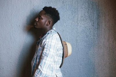 Mr Eazi Defiant, Still Rocks Ghana Must Go Suit [PHOTOS]