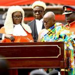 Dr Nana Akufo-Addo swearing in as President Of Ghana