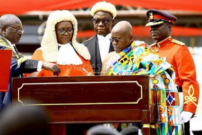 <p><strong>Nana Akufo-Addo:</strong> Ghanaian President Apologizes For Plagiarizing George Bush's Speech</p>