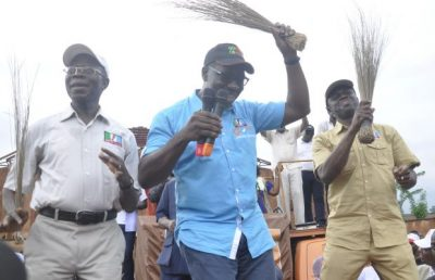 Obaseki Bans Oshiomhole's Private Tax Collectors
