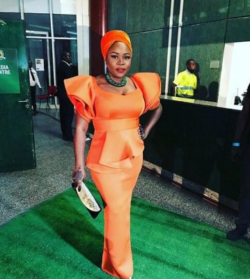 GLO CAF Awards 2016: See What Omawumi Rocked