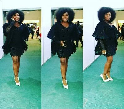 <p><strong>GLO CAF Awards 2016:</strong> See What Omawumi Rocked</p>