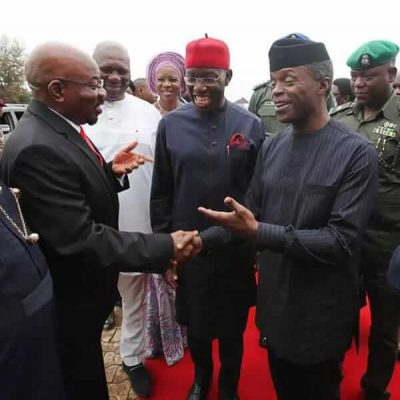 Oil Pipeline Burnt Down In Delta 24 Hours After Osinbajo's Visit