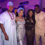 Toolz And Hubby Rocking It At An Owambe