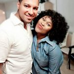 Uche Jombo and husband, Kenney Rodriguez