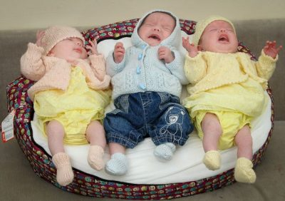 <p><strong>WONDERFUL!</strong> Meet Woman Who Gave Birth To 4 Babies In 11 Months (1 Triplet & 1 Single)</p>