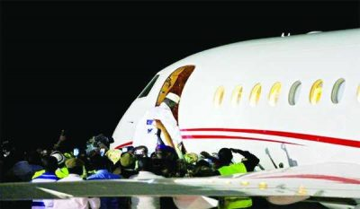 How Tinubu's Private Plane Flew Jammeh Into Exile