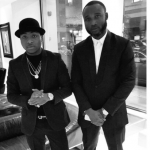 Davido and Manager, Kamal Ajibooye