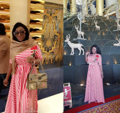 Ini Edo: Nollywood Actress Shares New Year Photos From Dubai