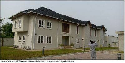 <p><strong>Diezani</strong>'s $153m Hidden Estate Uncovered In Bayelsa</p>