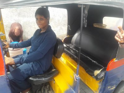 <p>Meet Young Lady Who Drives Keke To Sponsor Herself Through School [PHOTOS]</p>