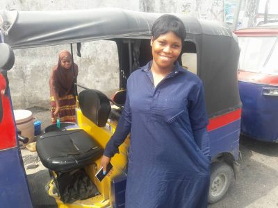 Meet Young Lady Who Drives Keke To Sponsor Herself Through School [PHOTOS]