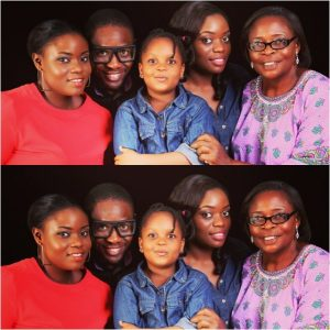 Big Brother Naija: Meet Bisola Aiyeola's Daughter & Family