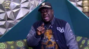 Mr. Ibu at Big Brother Naija house