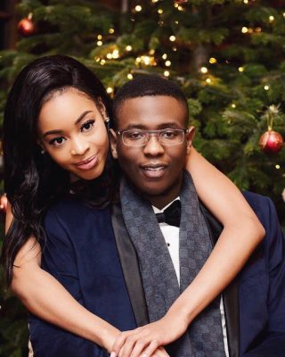 Fmr Ogun Governor, Gbenga Daniel's Physically Challenged Son, Adebola & Girlfriend Loved Up