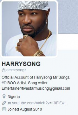 Harrysong Reunites With Five Star Music, Deletes 'Alter-Plate' From His Social Media