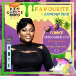 Yemi Alade, Funke Akindele Bag Nickelodeon Kids' Choice Award Nominations