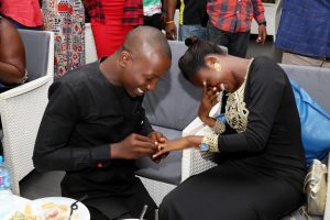 Blogger, Mister Redefined Proposes To Girlfriend Of Years; Aramide Is A Witness
