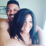 Omotola & Husband Look Drunk In Love In Valentine's Day In Shirtless Photo