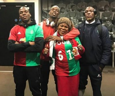 PHOTO: Pogba And His Brothers Looking Like Triplets