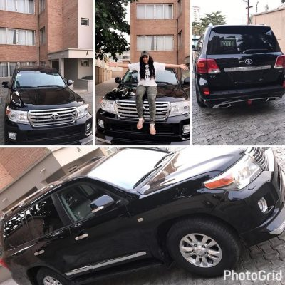 Rumoured Girlfriend Of Tonto Dikeh's Hubby, Actress Rosy Meurer Gets A Land Cruiser «