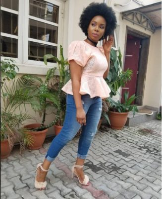 Yemi Alade Dumps Her Signature Hairstyle For Something Different [PHOTOS]
