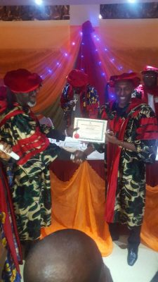 John Fashanu Adds Another Feather, Bags Doctorate Honours