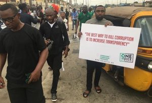 Photos From #IStandWithNigeria Protest In Lagos