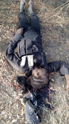 Boko Haram Suicide Bomber Who Disguised As A Girl Intercepted In Borno [PHOTOS]