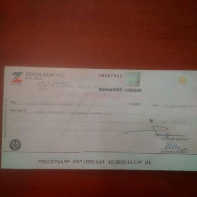 Man Returns N900k Mistakenly Paid To His Account By A Law Firm To EFCC