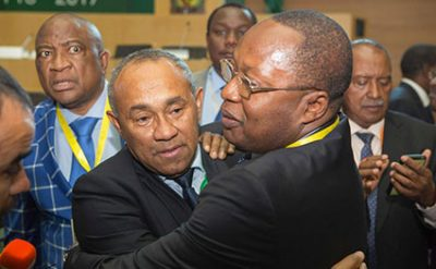 Ahmad Ahmad Defeats Hayatou To Become The New CAF President