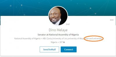 Harvard University Denies Dino Melaye Ever Studied There, Only Attended Seminar