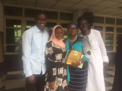 Mrs. Bilikis Oluderu Wins Principal Of The Year Award At Lagos State Education Awards