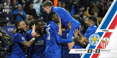 Champions League: Leicester City VS Sevilla 2 - 0 [HIGHLIGHTS DOWNLOAD]