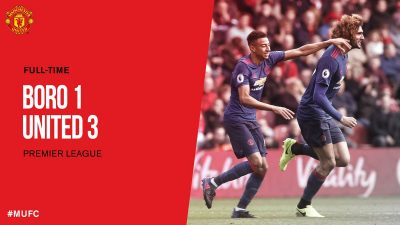 Middlesbrough VS Manchester United 1 - 3 [HIGHLIGHTS DOWNLOAD]