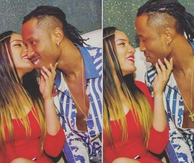 Ex-BBNaija Housemate, Gifty Spotted With Rumoured Bae, Mr 2kay At AMVCA 2017