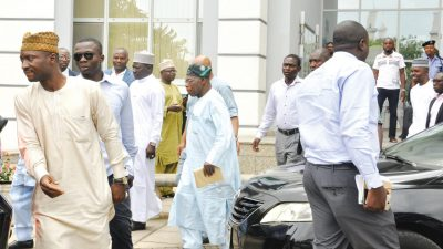 Obasanjo storms out of meeting