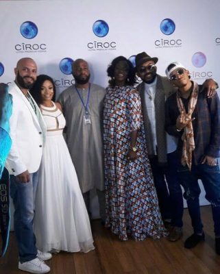 Toke Makinwa Dazzles In White As She Becomes Ciroc Ambassador