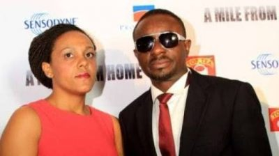 Emeka Ike and wife Suzanne