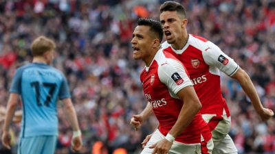 FA Cup: Arsenal vs Manchester City 2 - 1 [HIGHLIGHTS DOWNLOAD]