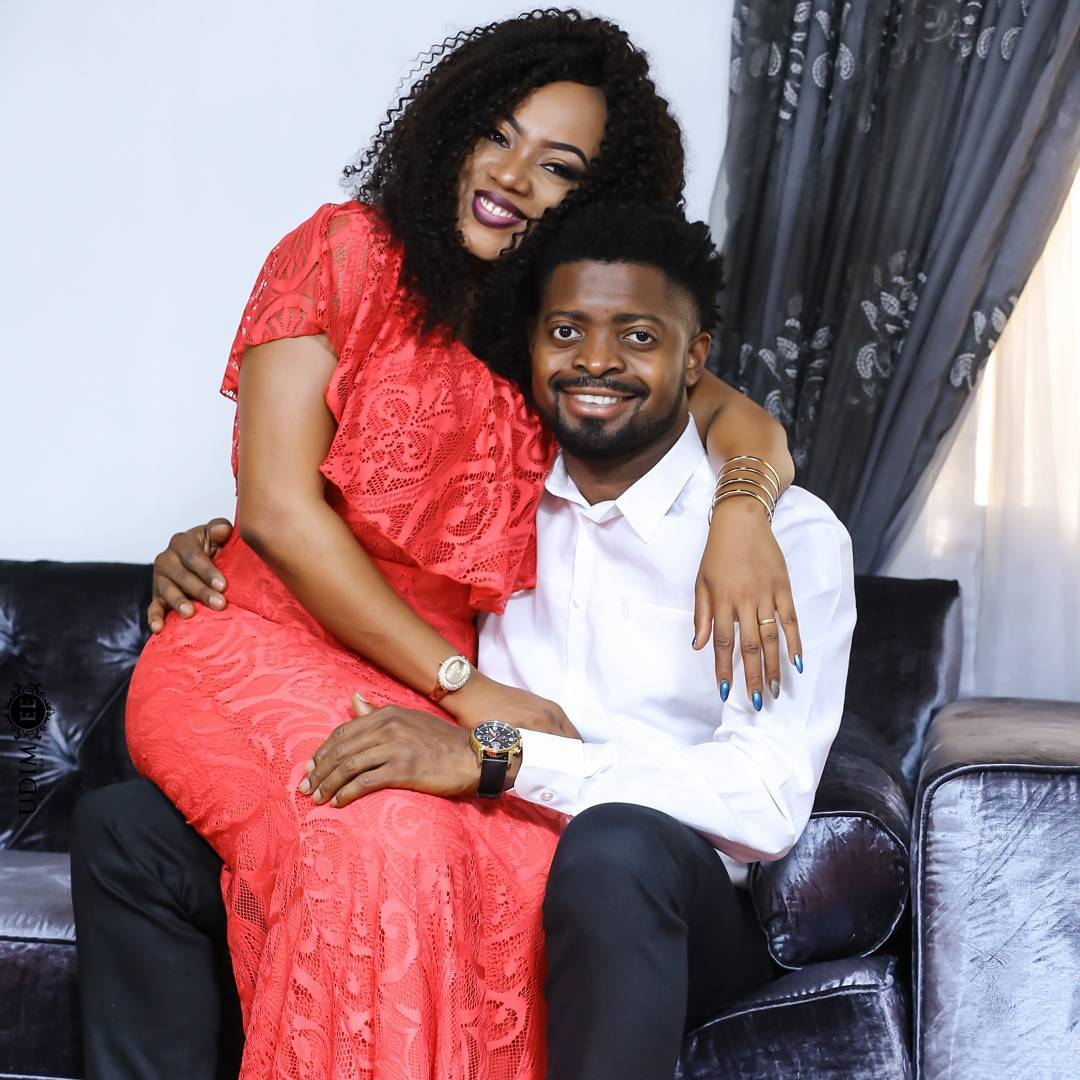 Basketmouth and wife, Elsie