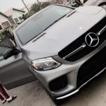 See The Gold Customized Mercedes Benz That Is Causing A Buzz In Kaduna. Photos