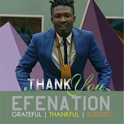 #BBNaija #BBFinale Efe Announced Winner With Over 50% Votes
