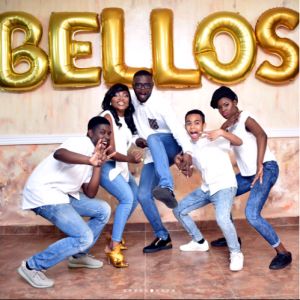 Funke Akindele, hubby and stepchildren