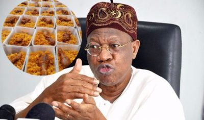 Lai Mohammed Berates Nigerian Jollof, Says 'Senegal Jollof Is The Best'