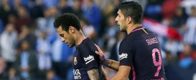 Malaga vs Barcelona 2 - 0 Highlights